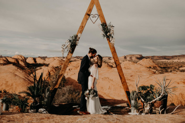 Intimate Desert Elopement Photography