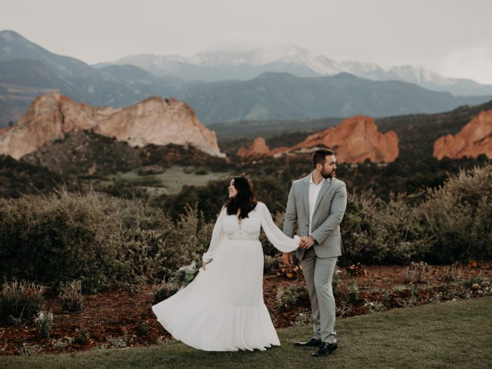 Keith + Jessica's Garden Of The Gods Intimate Wedding