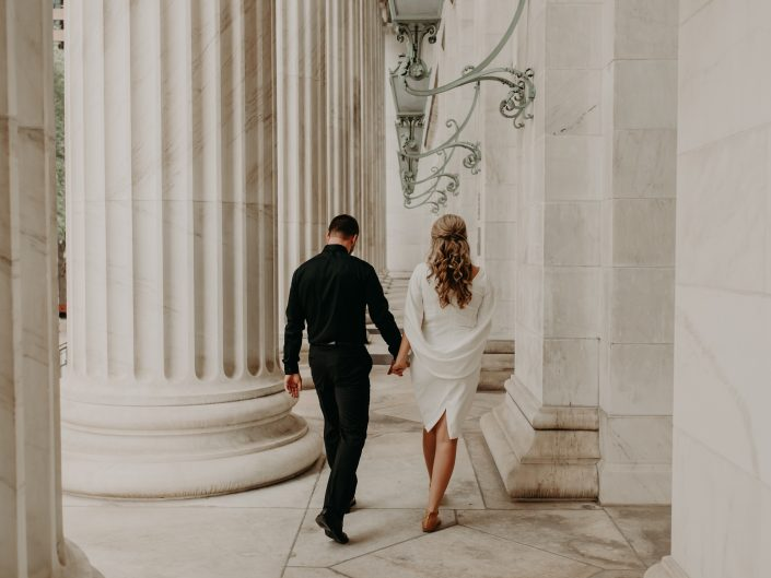 Samantha + Derek's Denver Courthouse Elopement