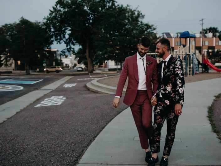 Bill + Dustin's Denver Wedding at Invisible City