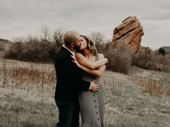 South Canyon Engagement Session with Amanda + Phil
