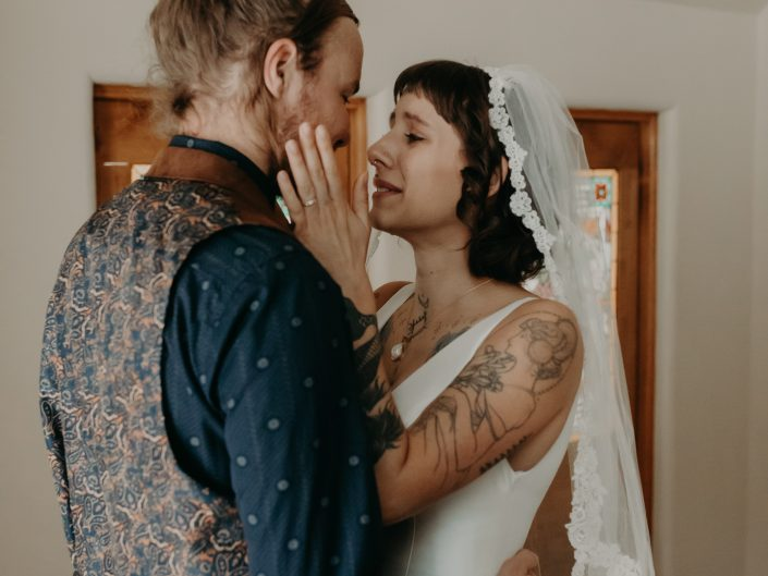 Michael + Meghan's Estes Park Wedding at Della Terra