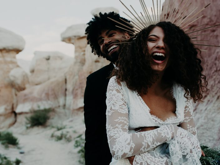 Paint Mines Styled Elopement with Jay + Mel